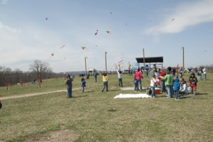 Kites galore at the 25th annual Kite Festival on Saturday, March 28, at Turpentine Creek!