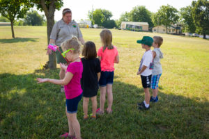 Kids enjoying summer at TCWR's Summer Day Camp